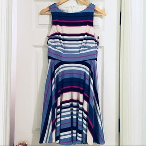 Anthropologie's Donna Morgan Striped Dress